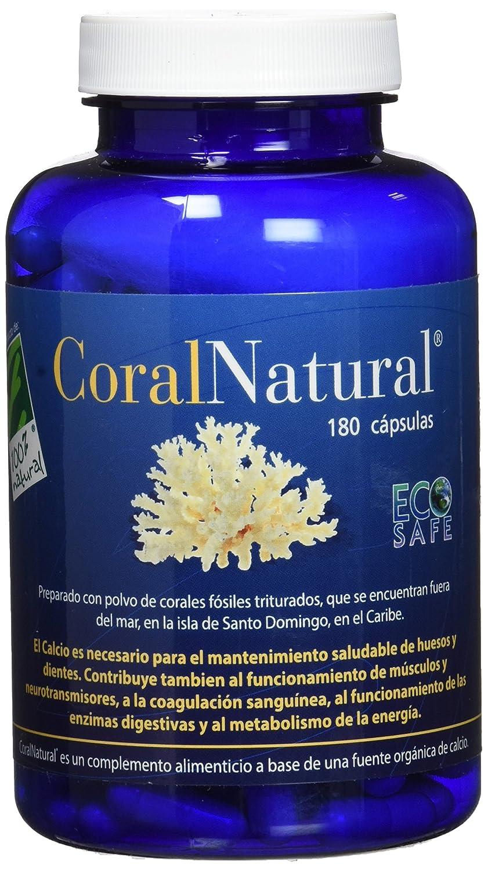 100% natural Coral Natural Minerales - 180 Cápsulas: Amazon.es: Salud y cuidado personal