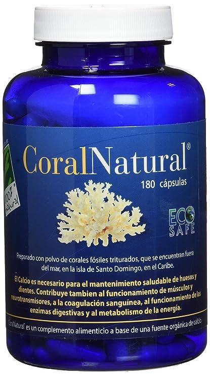 100% natural Coral Natural Minerales - 180 Cápsulas