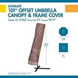 Duck Covers Ultimate Offset Patio Umbrella Cover