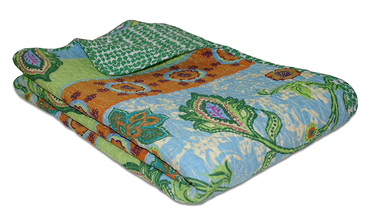 Greenland Home Mara Quilted Throw