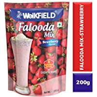 Weikfield Strawberry Falooda Mix, 200g