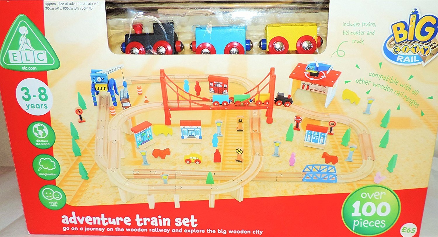 Early Learning Centre Figurines Big City Wooden Garage