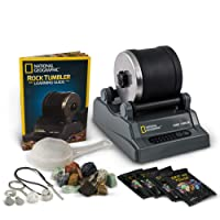 National Geographic Hobby Rock Tumbler Kit