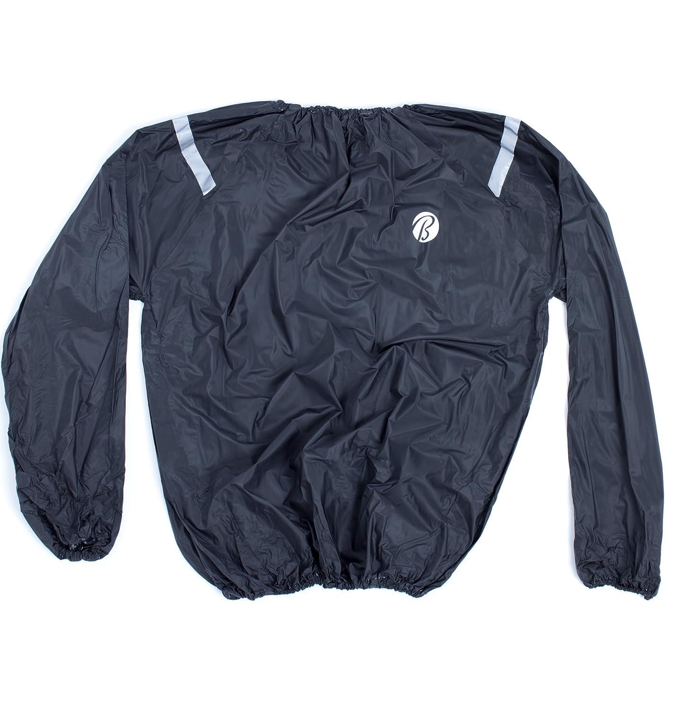 BALLY TOTAL FITNESS Men's Sauna Suit L/XL   B06Y4F9T8N