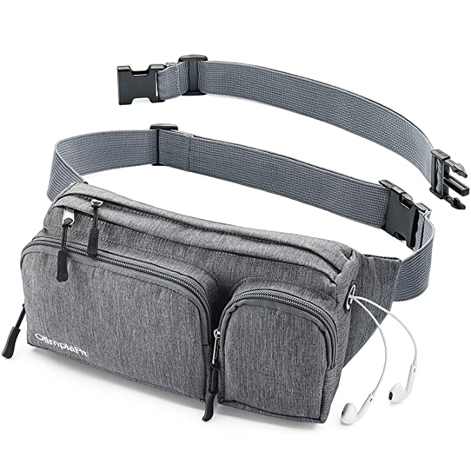 Fanny Pack s Large Women Men Girls Man Boy Cute Cool Waist Bag Dad Mom Hiking Travel Camp Swim Running Money Belt Roomy Beach Dog Walking Sport Phone 90 80 Wallet Gun Gym Hip Bum Festival XL Gray Big best women's fanny packs