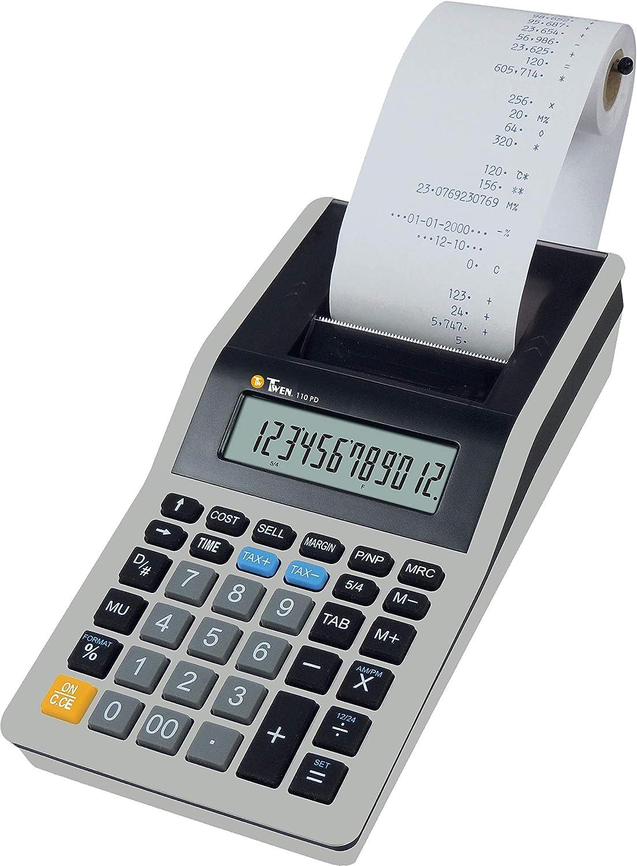 TWEN 110 PD Calculadora (Impresora: Amazon.es: Oficina y ...