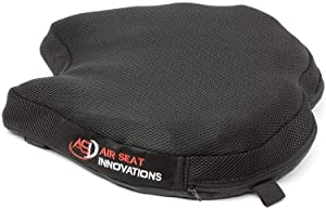 "Air Motorcycle Seat Cushion Pressure Relief Pad Large for Cruiser Touring Saddles 14.5"" x 14"""