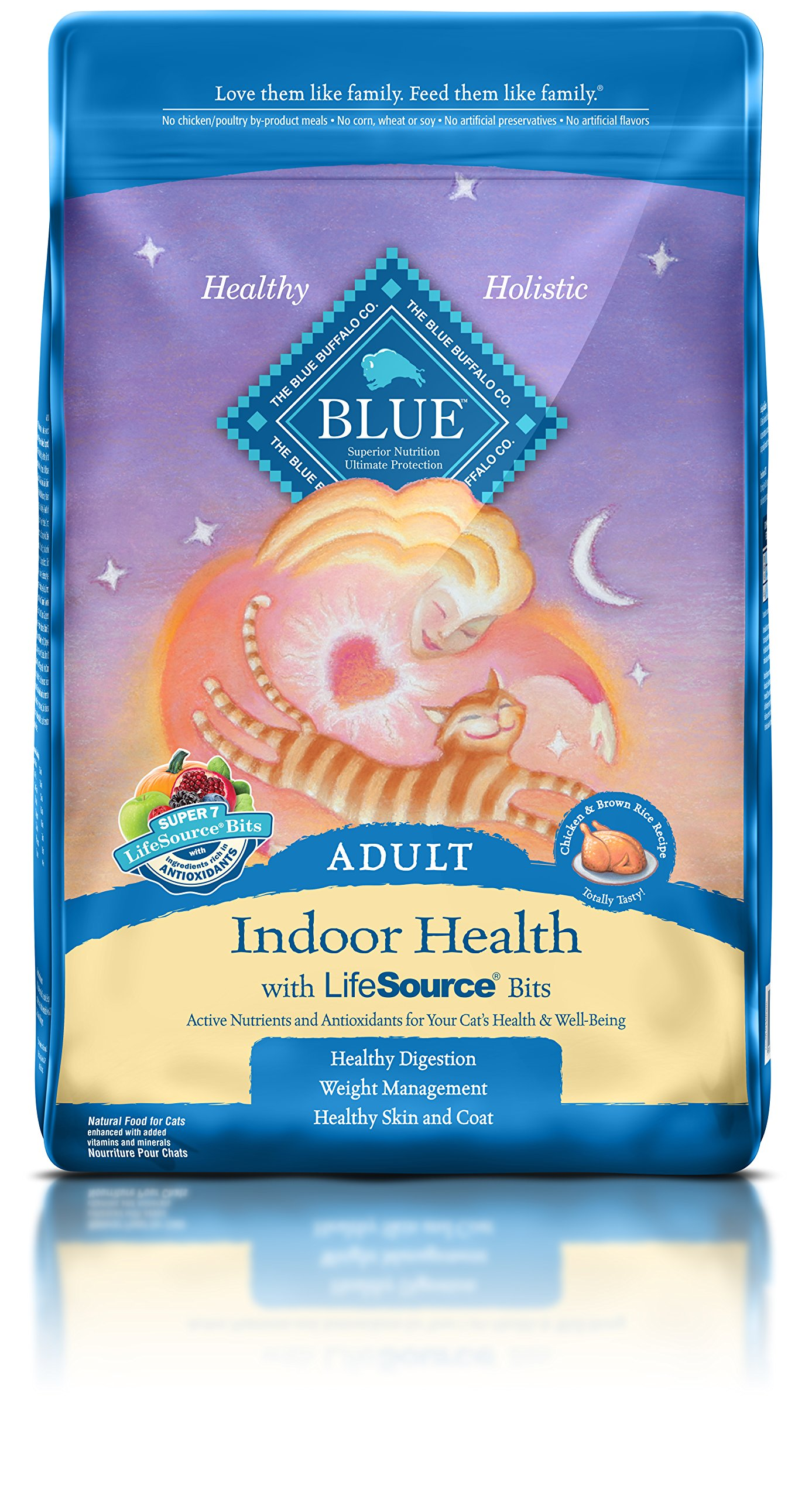 Calories In Blue Buffalo Dry Cat Food