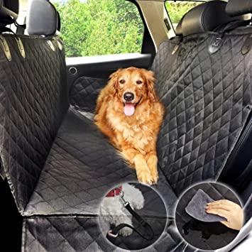 Dog Hammock Car Seat Cover For Water Proof Protector Pet Rear
