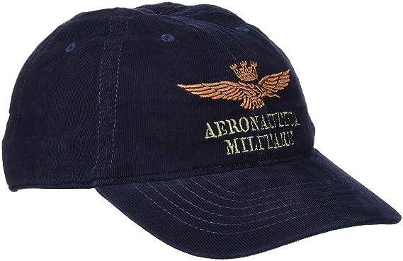marque populaire technologies sophistiquées mode attrayante Aeronautica Militare Cappellino Casquette de Baseball, Blu ...