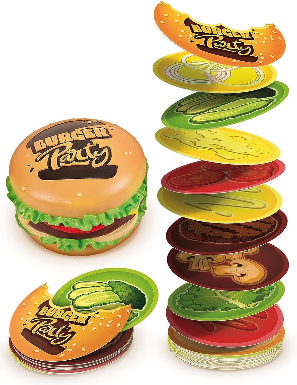 Goliath Toys 30891 Goliath-Burger - Juego de Cartas para Fiesta (6 años), Multicolor: Amazon.es: Juguetes y juegos
