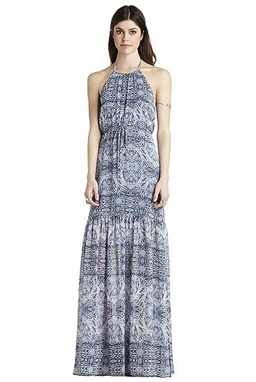 d9747640210 BCBGeneration Paisley Print Tiered Maxi Dress (M) at Amazon Women s ...