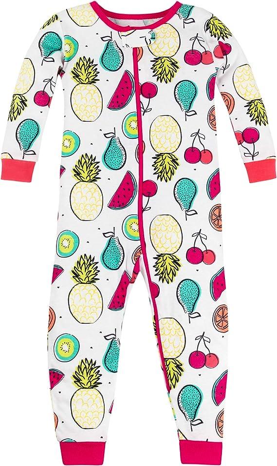 LAMAZE Girls Toddler Footless Stretchy Sleepwear Lamaze Organic Baby