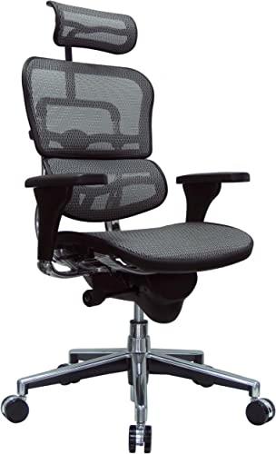 Eurotech Seating Ergohuman High Back Mesh Managers Chair