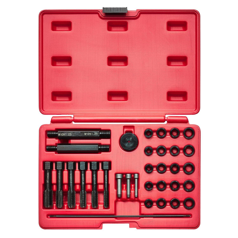KRAFTPLUS® K.265-6310 Juego de reparador de roscas / bujía incandescente - 33 piezas