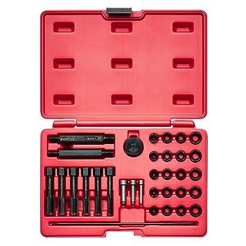 KRAFTPLUS® K.265-6310 Juego de reparador de roscas / bujía incandescente - 33 piezas: Amazon.es: Coche y moto