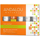 Andalou Naturals Brightening Get Started Kit, 5 Count