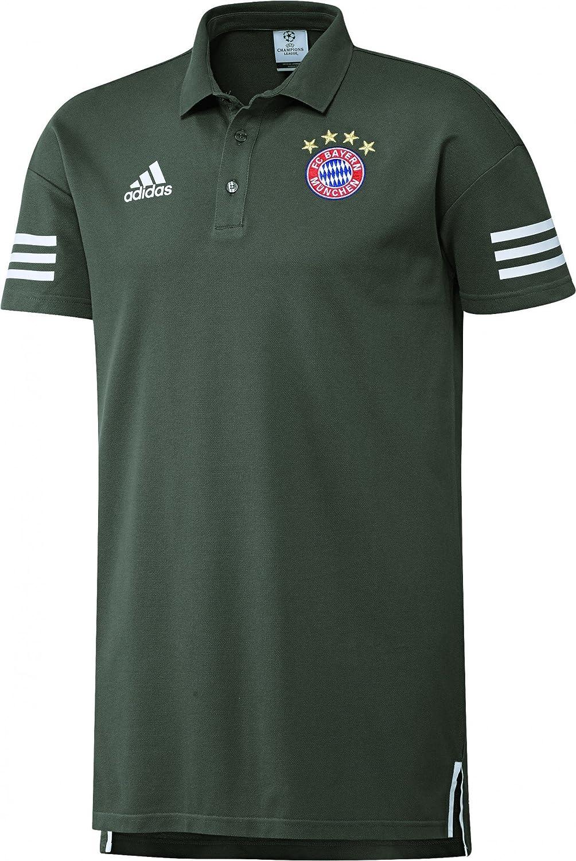 2017-2018 Bayern Munich Adidas Polo Shirt (Cinder) B072KNKNDWSmall 36-38\