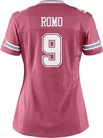 Dallas Cowboys NFL Womens Tony ROMO Womens Game Jersey