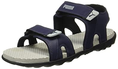 Puma Men s Comet Ipd Peacoat and Quarry Leather Athletic   Outdoor Sandals  - 11 UK  872ed0ed1