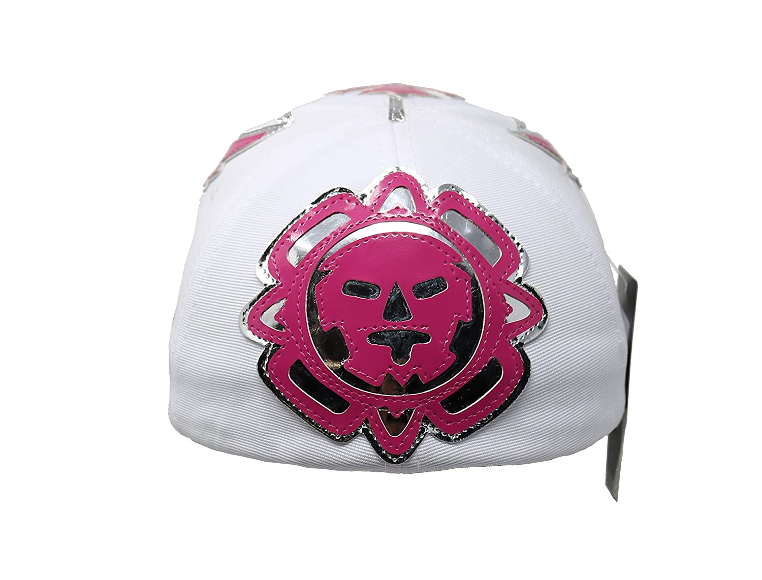 Heroes Of Lucha Libre Rey Mysterio Adult Unisex Stretch Fit Hat (Black) at Amazon Mens Clothing store: