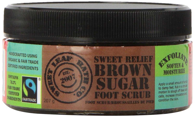 Sweet Leaf Bath Sweet Relief Foot Scrub, Fairtrade Sweet Leaf Bath Co.