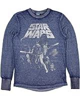 Star Wars Men's Thermal Blue (Large 42/44)