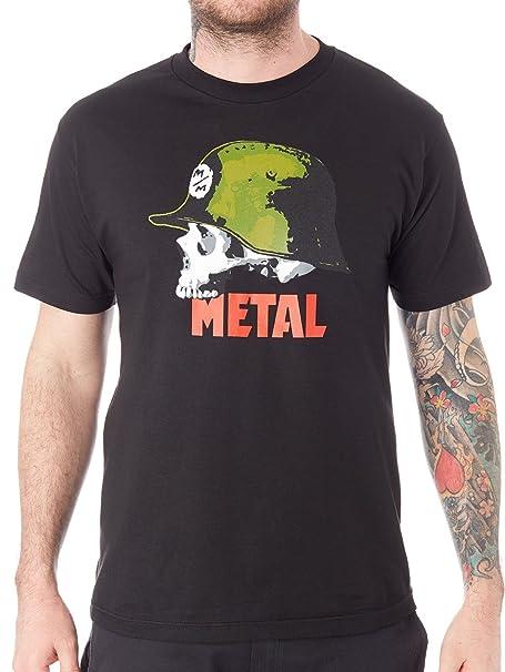 le dernier 085ff bdaf0 Metal Mulisha Men's Graphic Militant Logo Tee T-Shirt