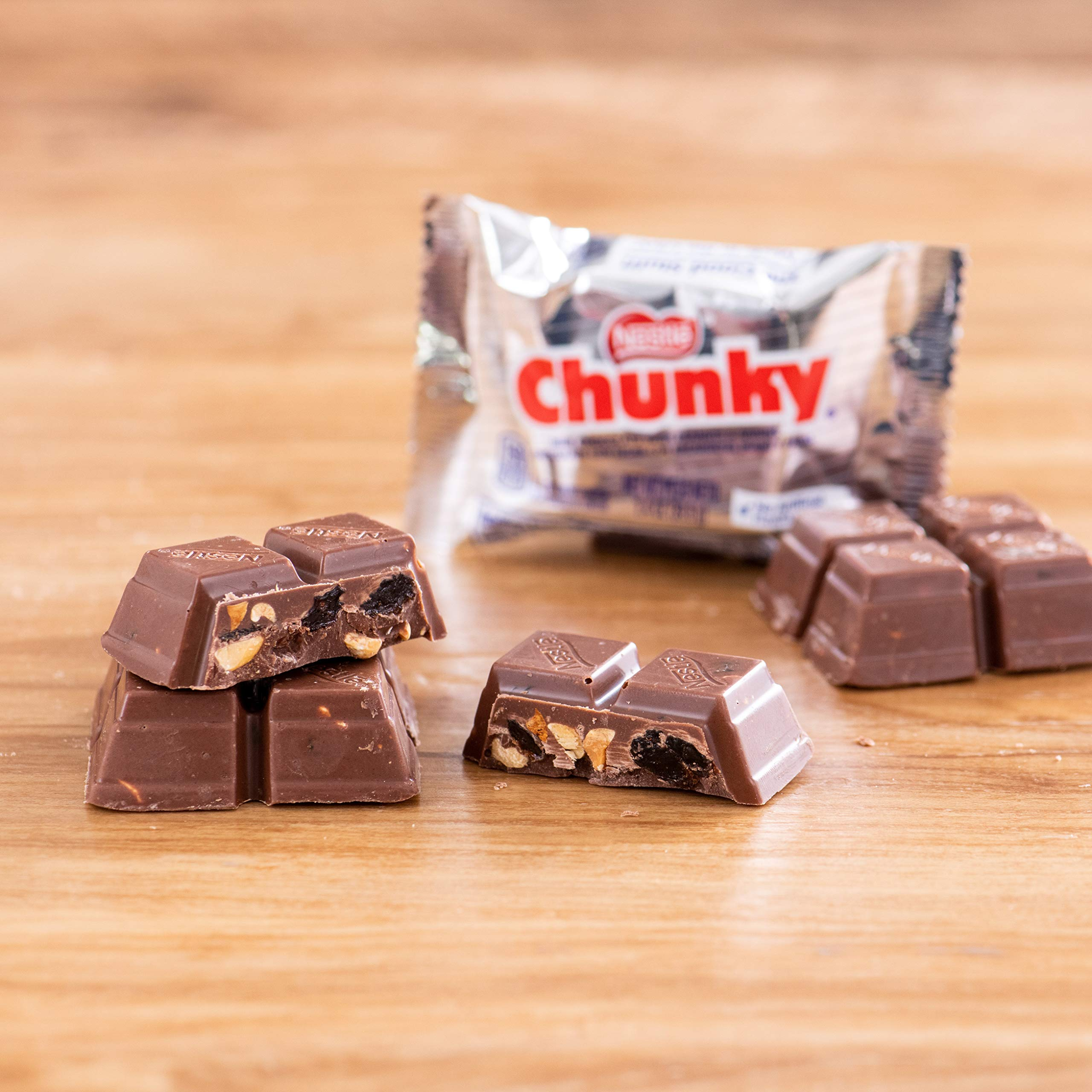 Nestle Chunky Chocolate Single Candy Bars, 1.4 Ounce (Pack of 24) by Chunky (Image #8)