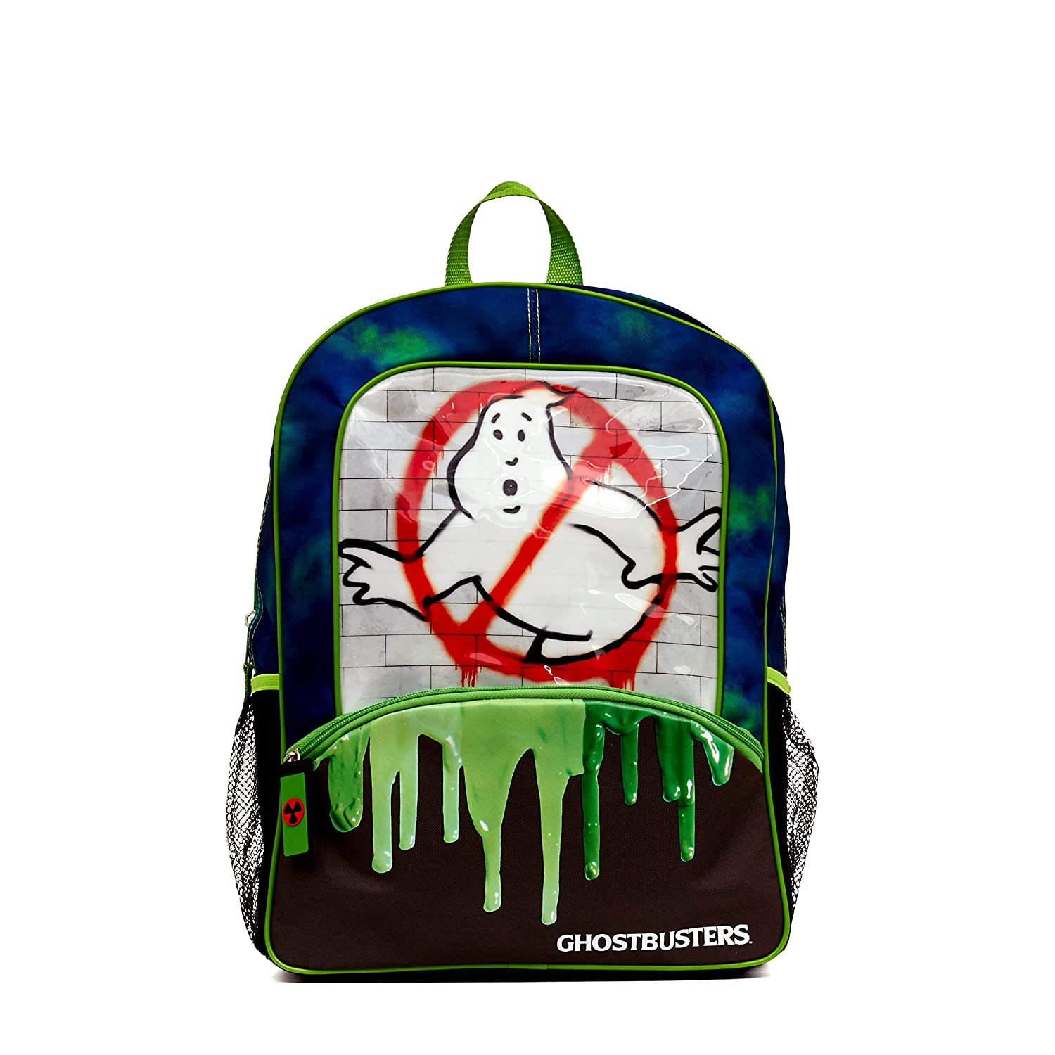Ghostbusters No Ghost Slimer 16 Inch Backpack 6794323
