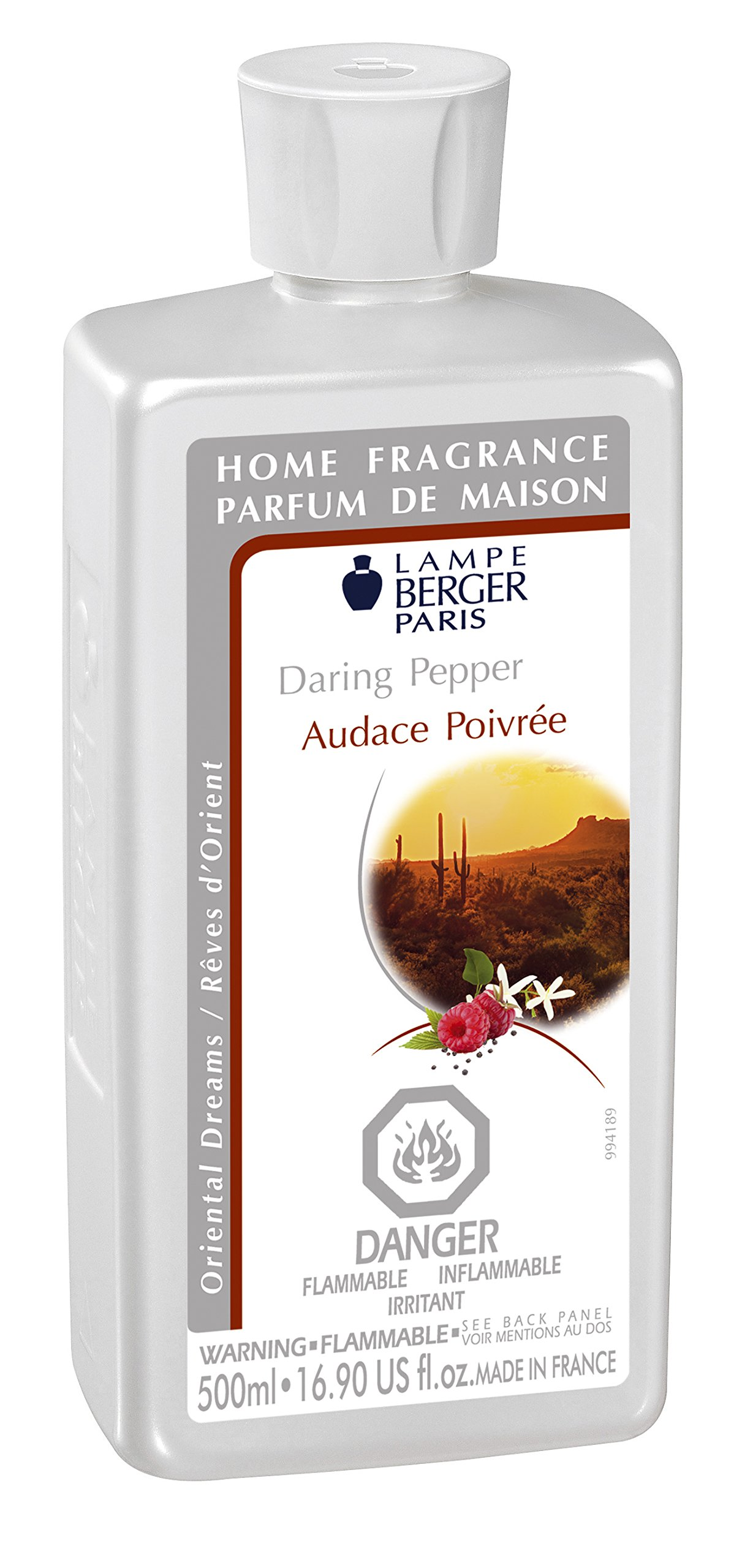Lampe Berger 415310 500ml-Daring Pepper Fragrance - Daring Pepper , 500ml / 16.9 Fl.Oz
