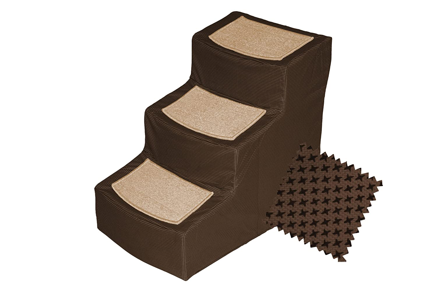 Great Amazon.com : Pet Gear Designer 4 Step With Removable Cover, Pet Stairs,  Sage : Pet Supplies