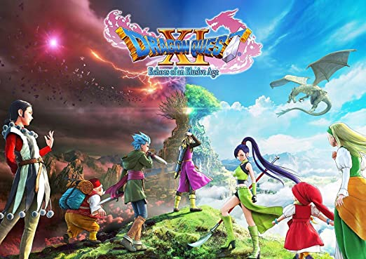 Dragon Quest XI: Echoes of an Elusive Age Poster: Amazon.es: Hogar