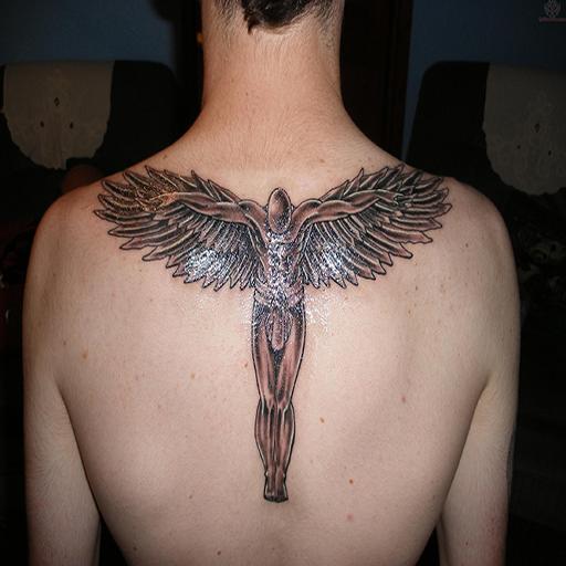 Angle Tatto Design Ideas For Men Vol 2