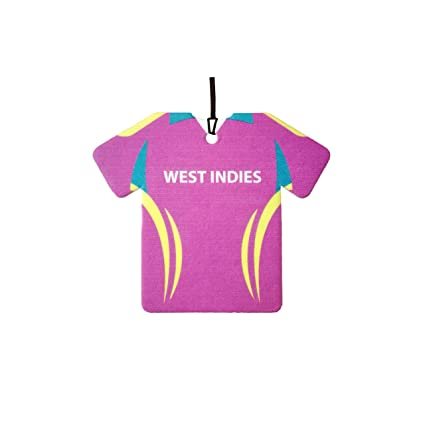 ba9025e1c Amazon.com  Personalized West Indies Cricket Shirt Car Air Freshener   Automotive