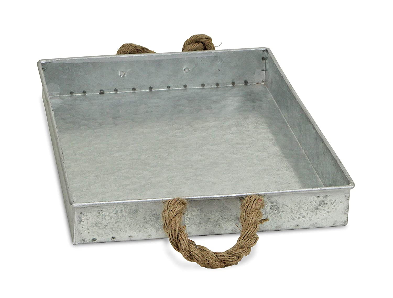 Amazon.com: De Cheung fp-3744 Bandeja rectangular de metal ...