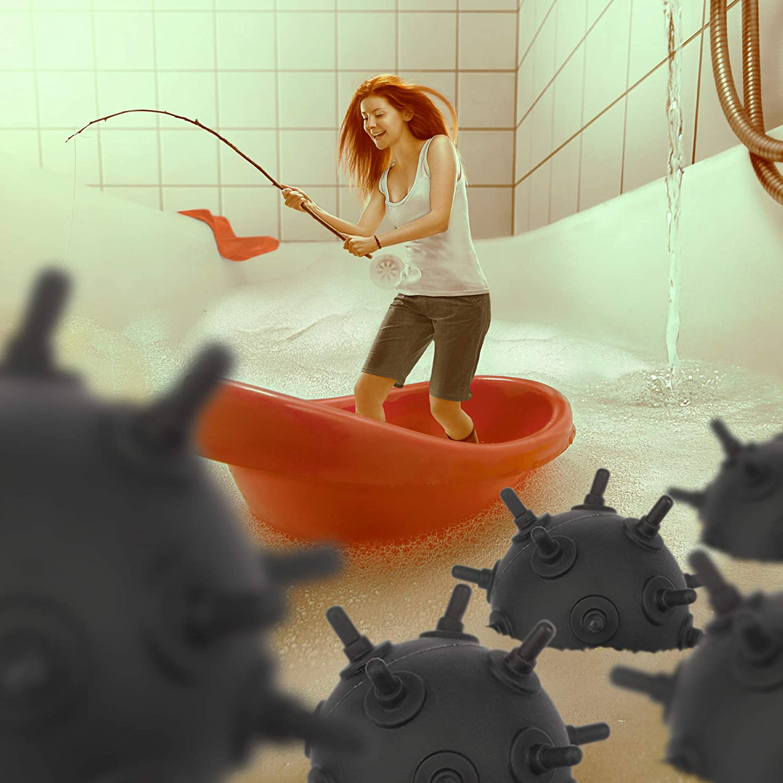 Bombs Away Bath Plug 1 Pirates Themed Bath Tub Plug Kids Bath Tub Drain Stopper
