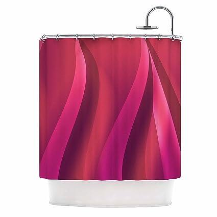 Amazon Kess InHouse Fotios Pavlopoulos Petals In Pink Magenta