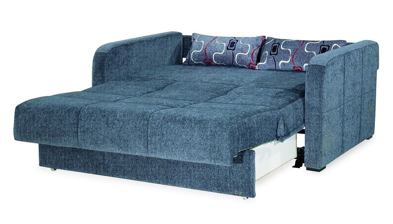 Amazon.com: Casamode Ferra Fashion Loveseat Sleeper Gray ...
