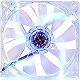 Thermaltake 120mm Blue LED Case Cooling Fan CL-F012-PL12BU-A