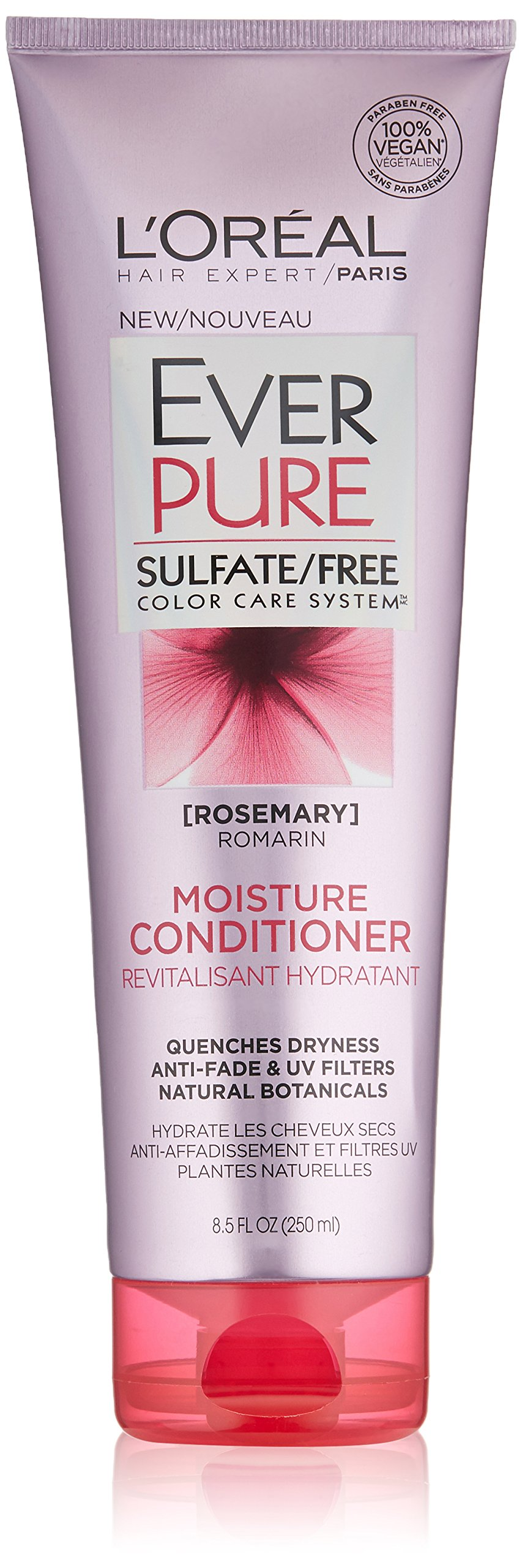 L'Oreal Paris Hair Care Ever Pure Moisture Conditioner, 8.5 Fluid Ounce