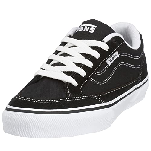 f918000d046 Vans Men s Bearcat Skate Shoes Black White 7 M US  Buy Online at Low ...