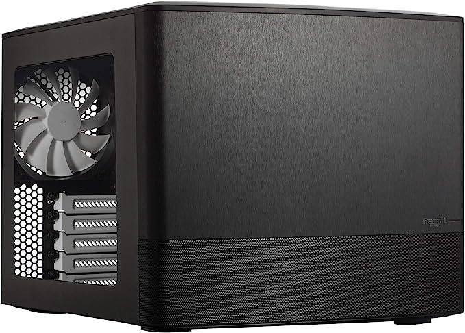 Fractal Design Node 804 - Caja de Ordenador de sobremesa, Negro: Amazon.es: Informática