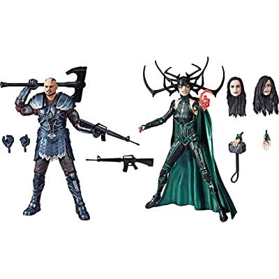 "Marvel Legends Series Thor: Ragnarok 6""-Scale Movie-Inspired Skurge & Marvel's Hela Collectible Action Figure 2 Pack: Toys & Games"