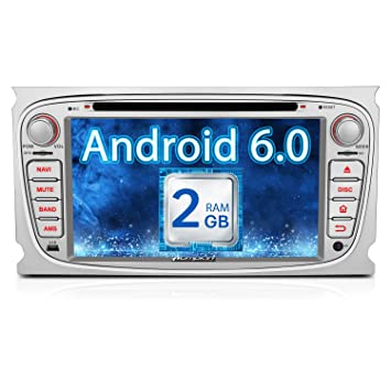 Pumpkin Ram Gb Android Head Unit For Ford Focus Galaxy S Max Mondeo Double Din