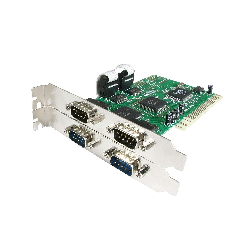 STARTECH.COM Scheda Seriale PCI a 4 Porte RS-232 con 16550 UART