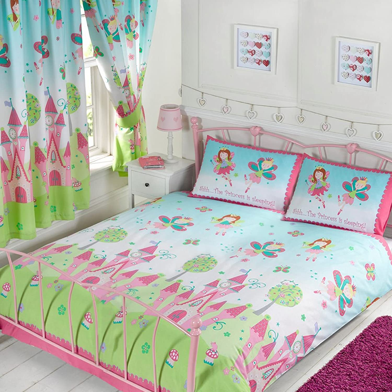 Princess is Sleeping Double Duvet + Matching Fully Lined 72