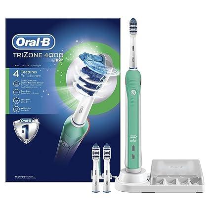Oral-B TriZone 4000 - Cepillo de dientes eléctrico recargable ... a03e4049b7b3