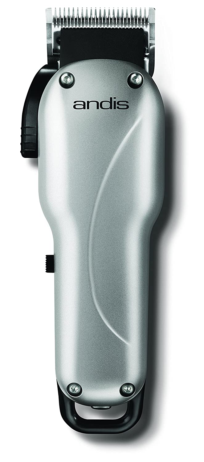 Andis Cordless Groom Perfect Li Adjustable Blade Clipper Animal Dog Grooming LCL Silver (73030)