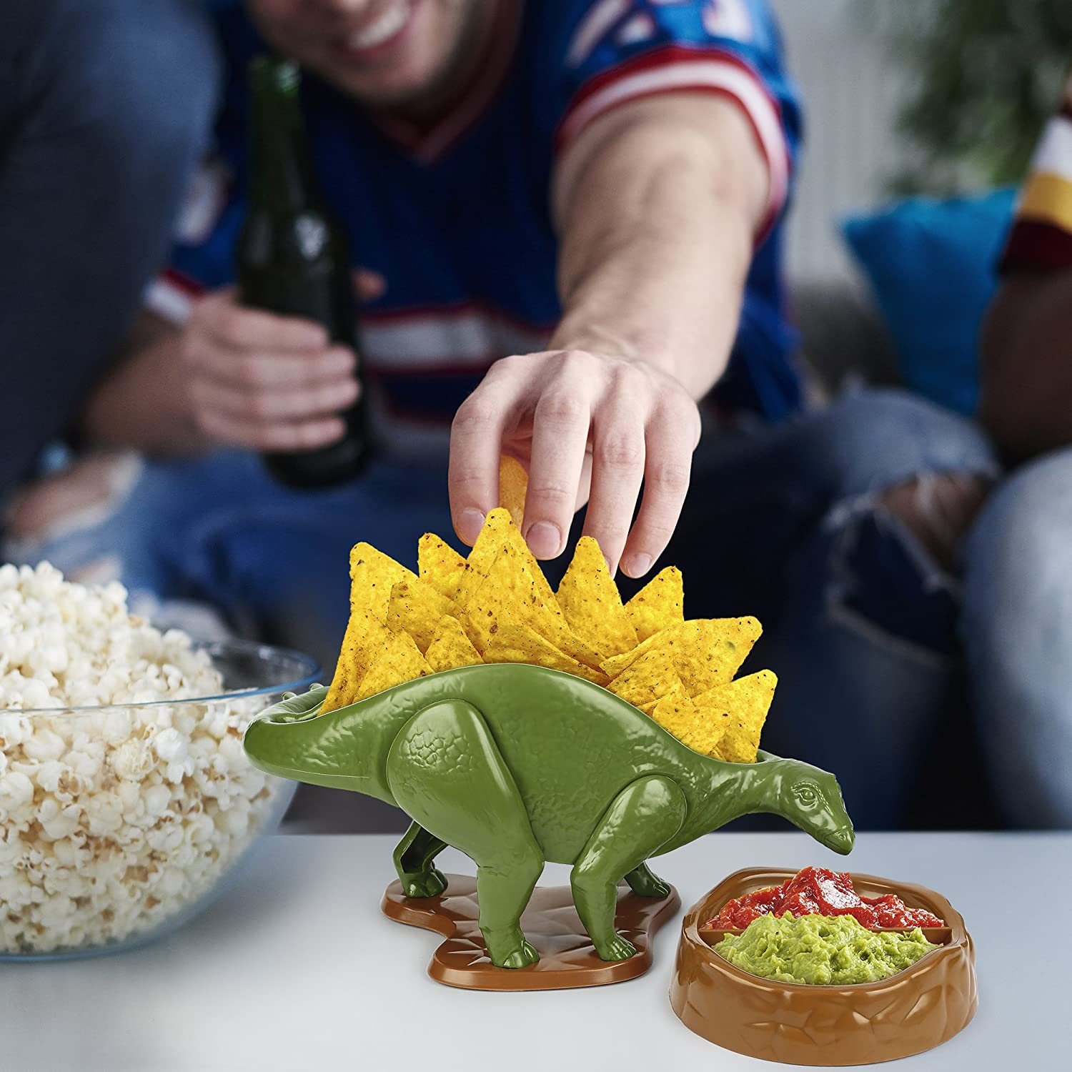 The Ultimate Prehistoric Taco Stand for Jurassic Taco Tuesdays and Dinosaur Parties KidsFunwares TriceraTACO Taco Holder Holds 2 Tacos The Perfect Gift for Kids and Kidults that Love Dinosaurs